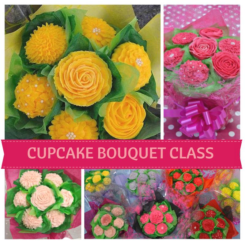 Cupcake Bouquet Class