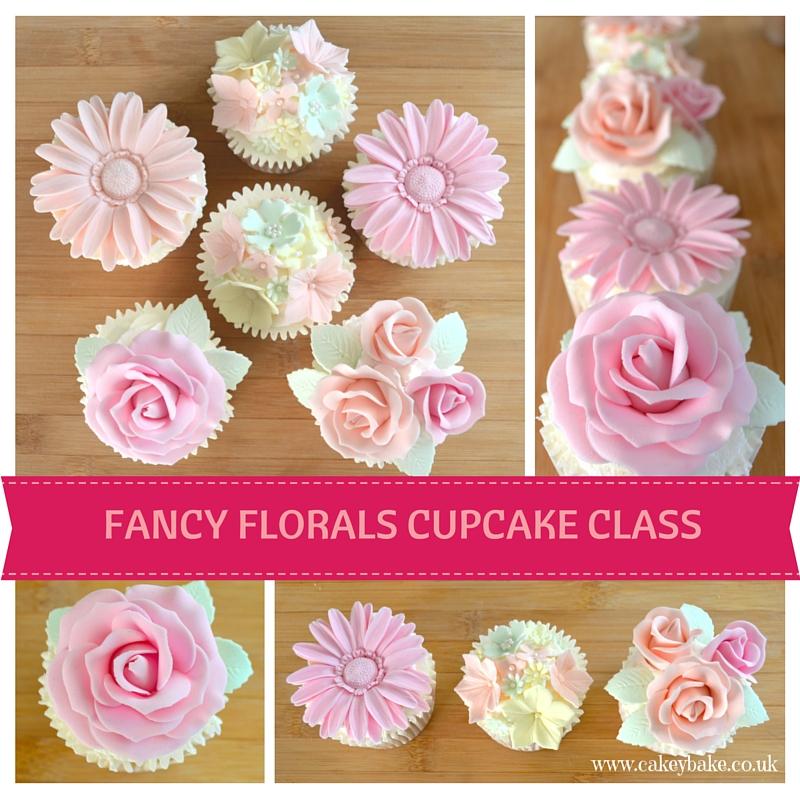 Fancy Florals Cupcake Class