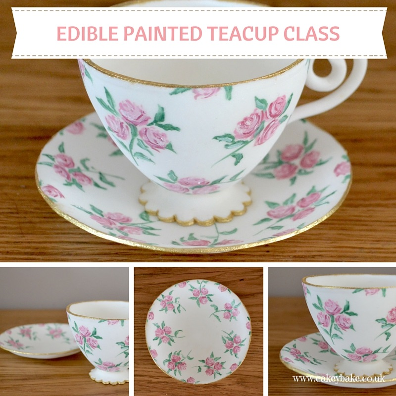 Edible Painted Teacup Evening Class
