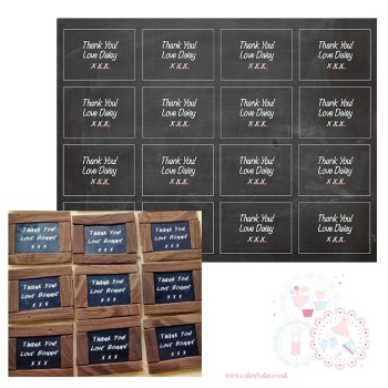 Chalkboard Icing Sheet - can be personalised