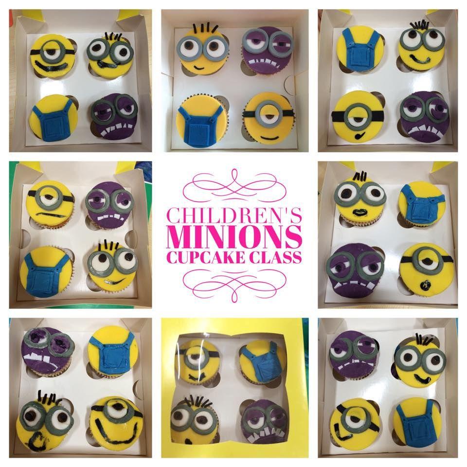 Minions Childrens Cupcake Class