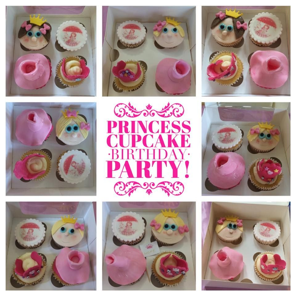 Princess Cupcake Party