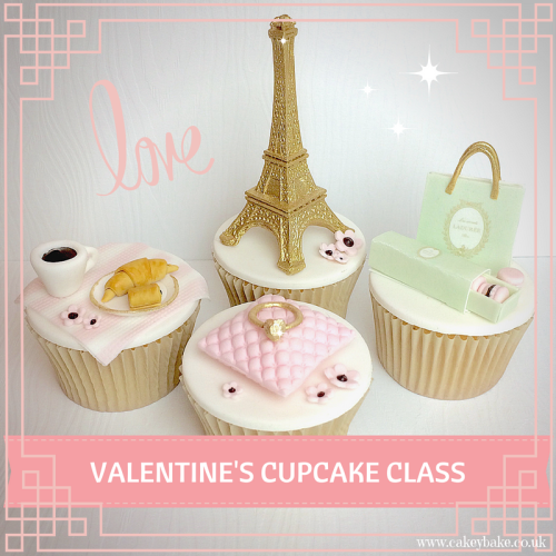 J'adore! Valentines Cupcakes - Evening Class