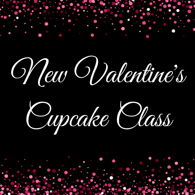 NEW Valentine's Cupcake Class - £15 off this weekend only!