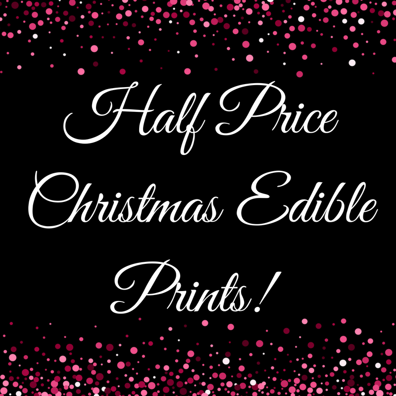 Half Price Edible Prints