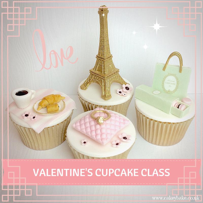 Valentines Cupcake Class, LIVERPOOL