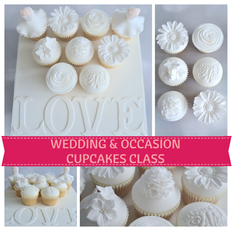 Wedding & Occasion Cupcakes Class