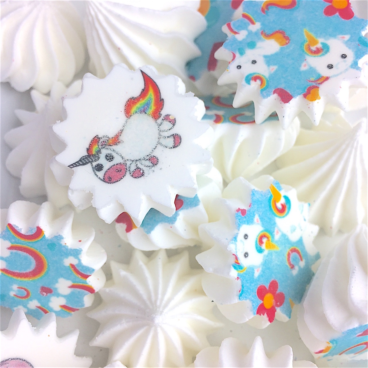 Unicorn Candy Kiss Sheet