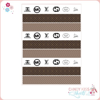 Designer Patterns Candy Kiss Sheet