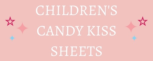 Children's Designs Edible Candy Kiss Sheets