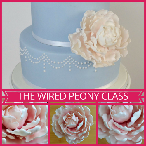 The Wired Peony Class - Evening Class, 5th April