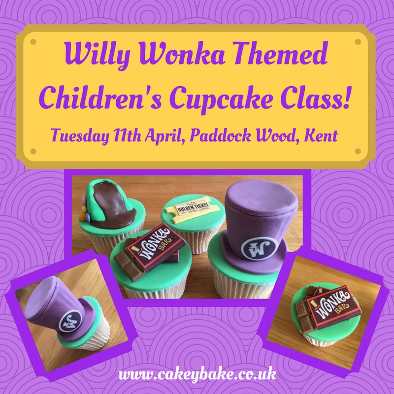 Willy Wonka Cupcake Class