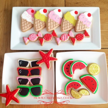 Summer Cookie Class - Saturday 12th August 2017