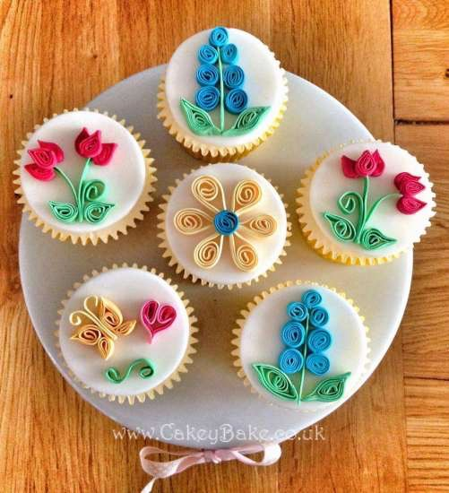 Quilled Cupcakes Evening Class