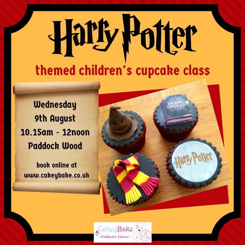 Harry Potter Cupcake Class