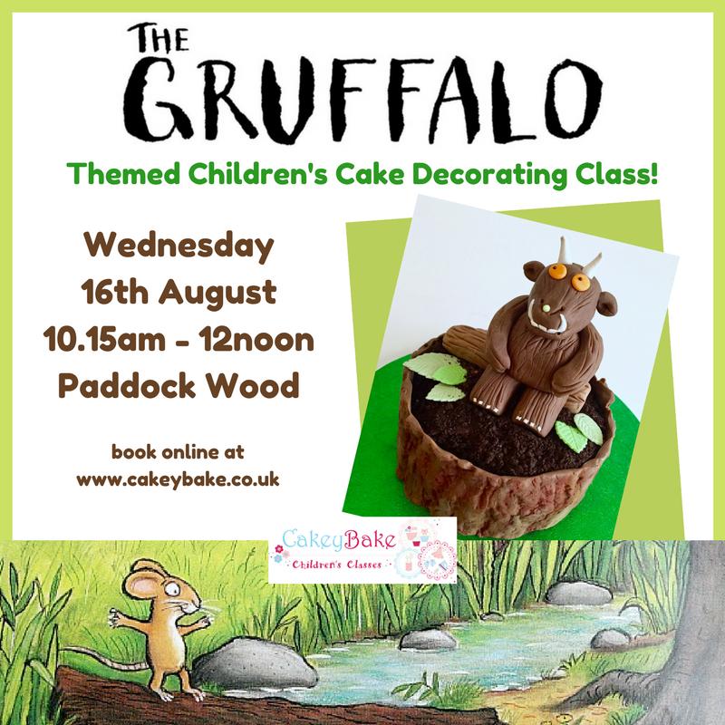 Gruffalo Themed Children's Cake Decorating Class