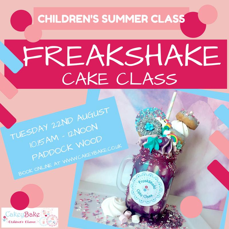 Freakshake Cake Class