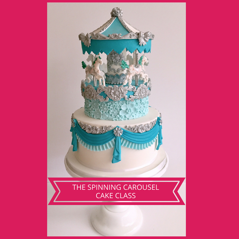 The Spinning Carousel Cake Class