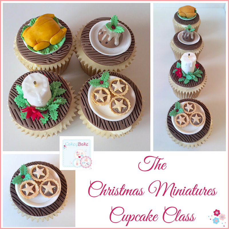 Christmas Miniatures Cupcake Evening Class