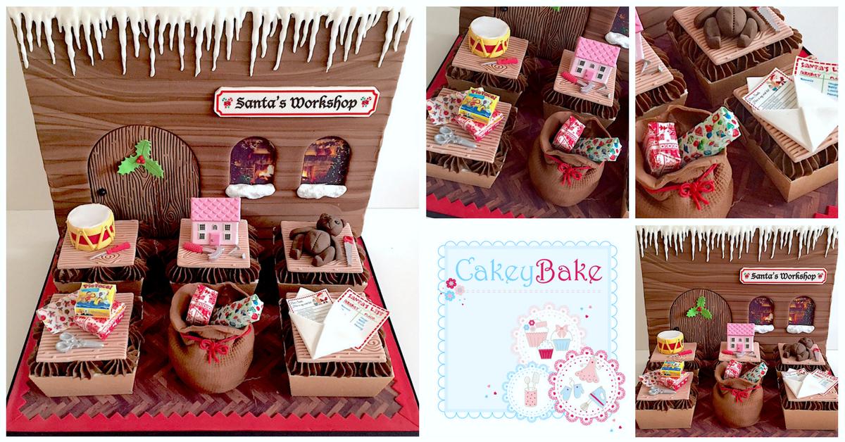 Santa's Workshop Cupcake Class