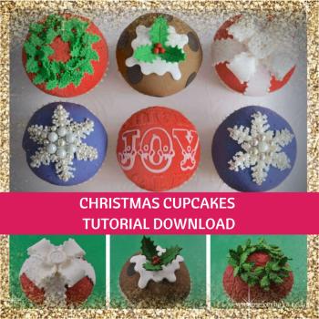 CakeyBake Tutorial - Christmas Cupcakes