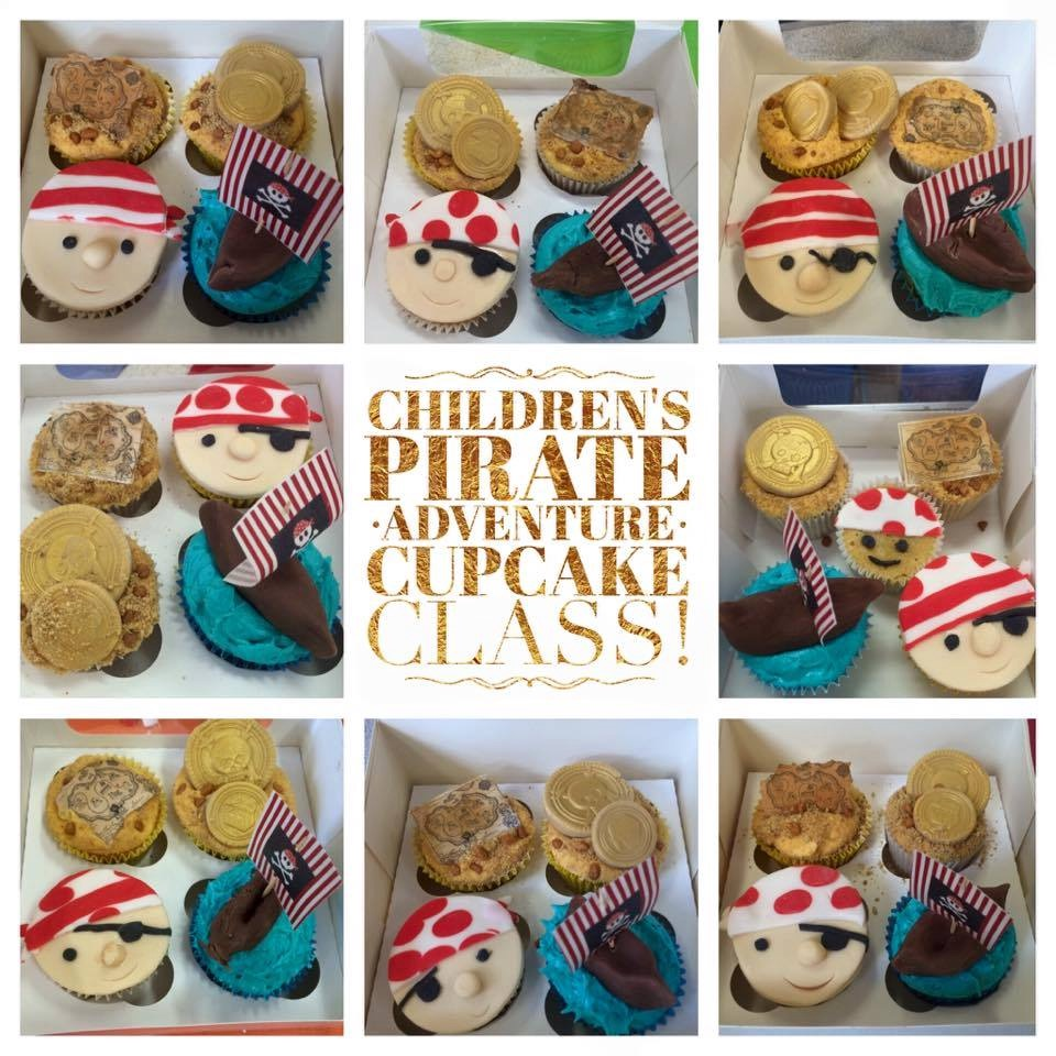 Pirate Adventures Children's Cupcake Class