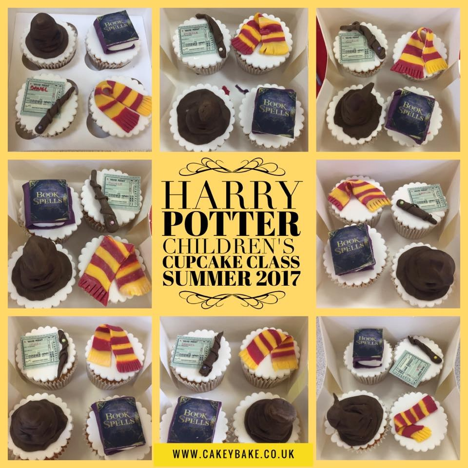 Harry Potter Children's Cupcake Class