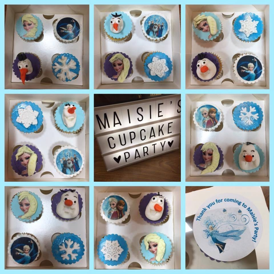 Frozen Cupcake Party