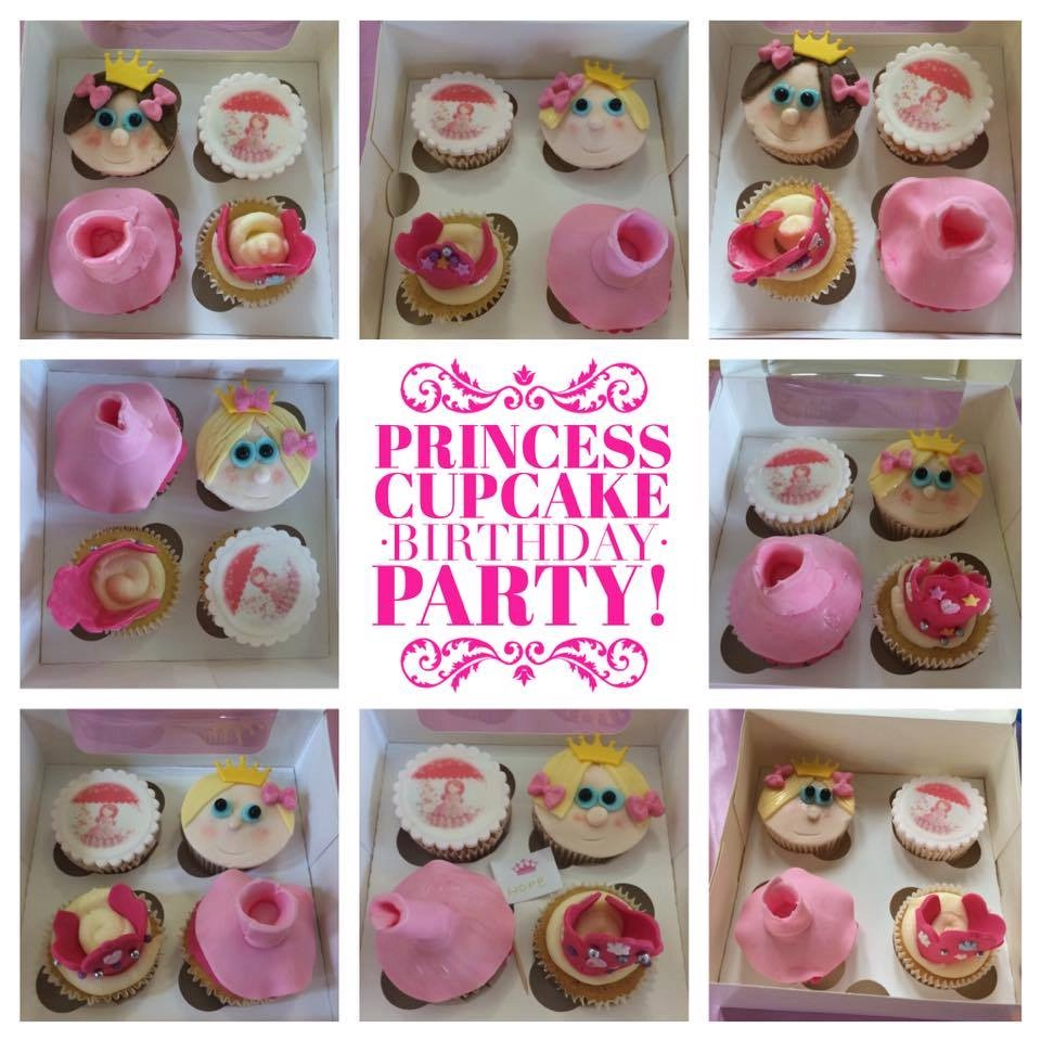 Princes Cupcake Birthday Party