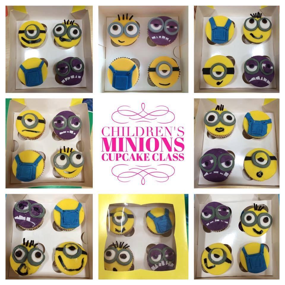 Minions Cupcake Class
