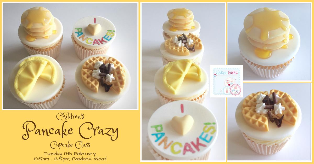 Children's Pancake Crazy Cupcake Class!