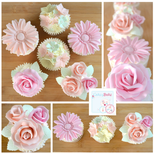 Fancy Florals Cupcake Evening Class - 23rd May 2017