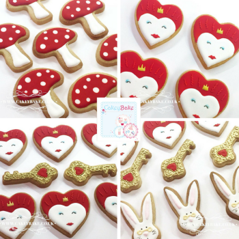 Alice in Wonderland Cookie Class - 9th June 2018