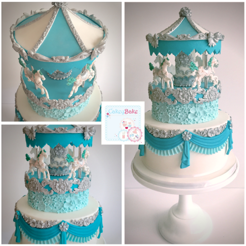 Spinning Carousel Cake Class, Saturday 18th August 2018 LIVERPOOL