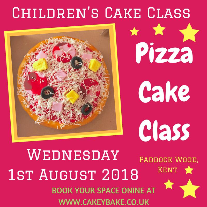 Pizza Cake Class