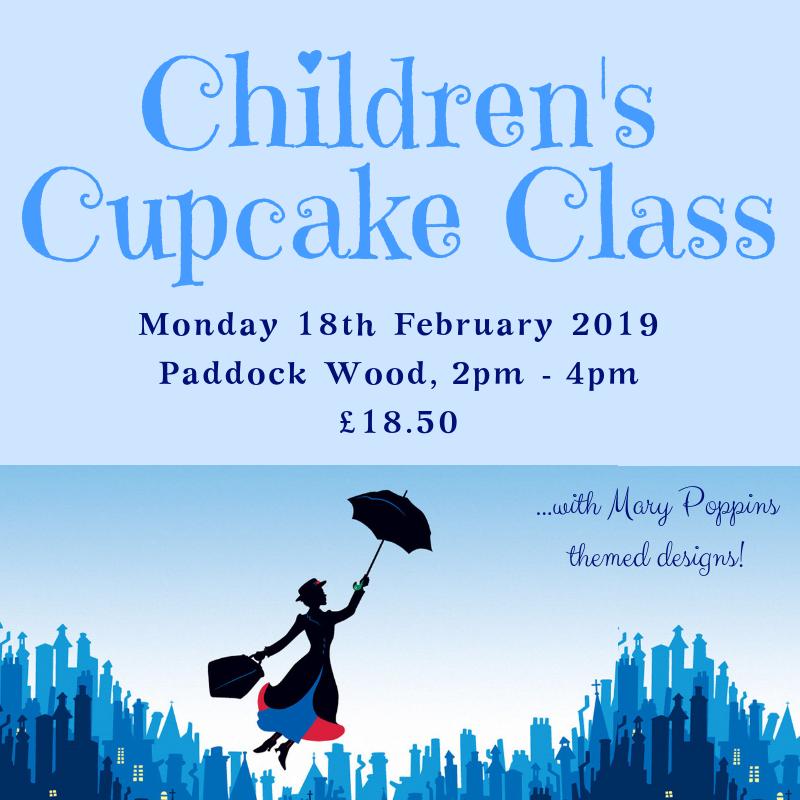 childrens cupcake class