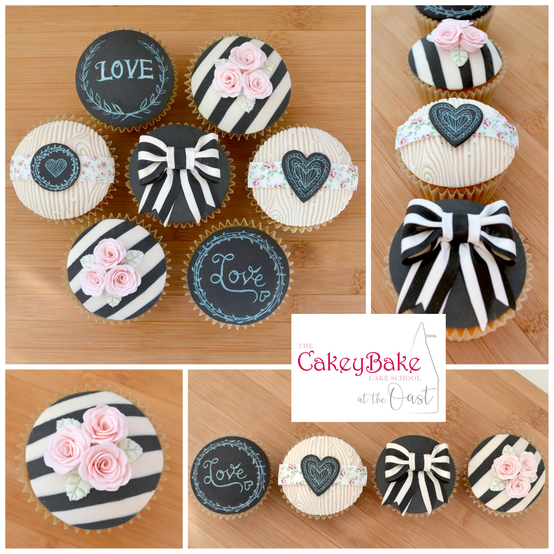 Vintage Chalkboard Cupcakes Class - Friday 20th September 2019