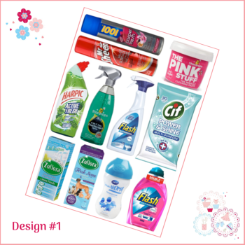 Hinch Cleaning Products A4 Edible Printed Sheet
