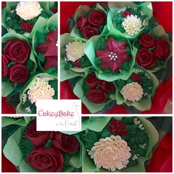Christmas Cupcake Bouquet Class - Sunday 5th December