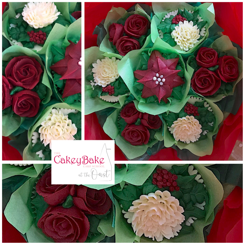 Christmas Cupcake Bouquet Class - Saturday 30th November 2019