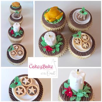 Christmas Miniature Food Cupcakes Class