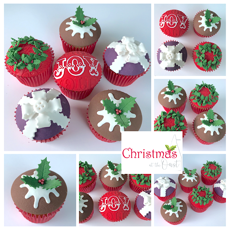 Christmas Cupcakes Evening Class - Monday 2nd December 2019