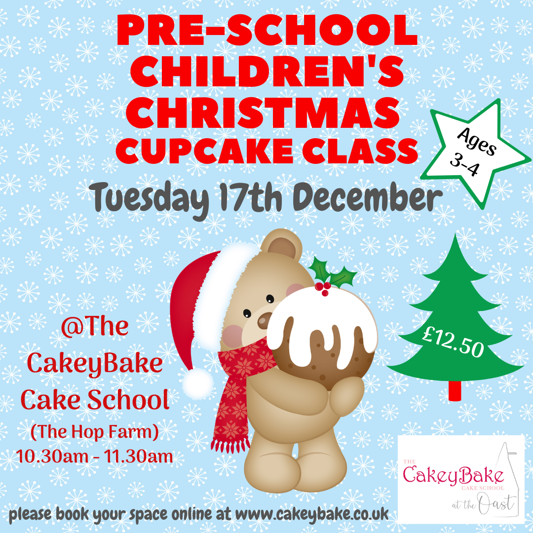 Tuesday 17th December  - Pre-school Christmas Cupcake Class