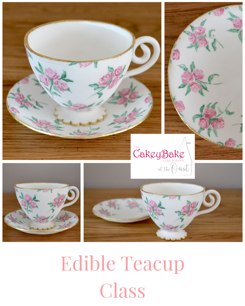 Edible Painted Teacup Class