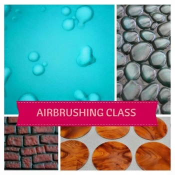 Introduction to Airbrushing Class - Saturday 11th April  2020