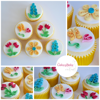 Quilled Cupcakes, Sunday 26th Aril 2020