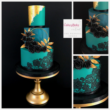 Emerald Obsession Tiered Cake Class , Saturday 30th & Sunday 31st May 2020 (2 day class)