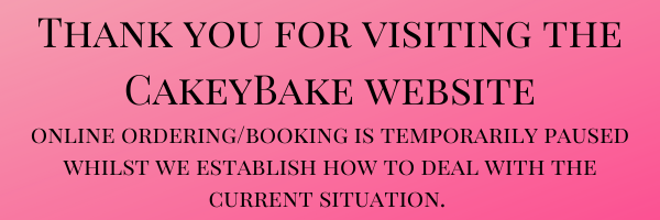 Thank you for visiting the CakeyBake website