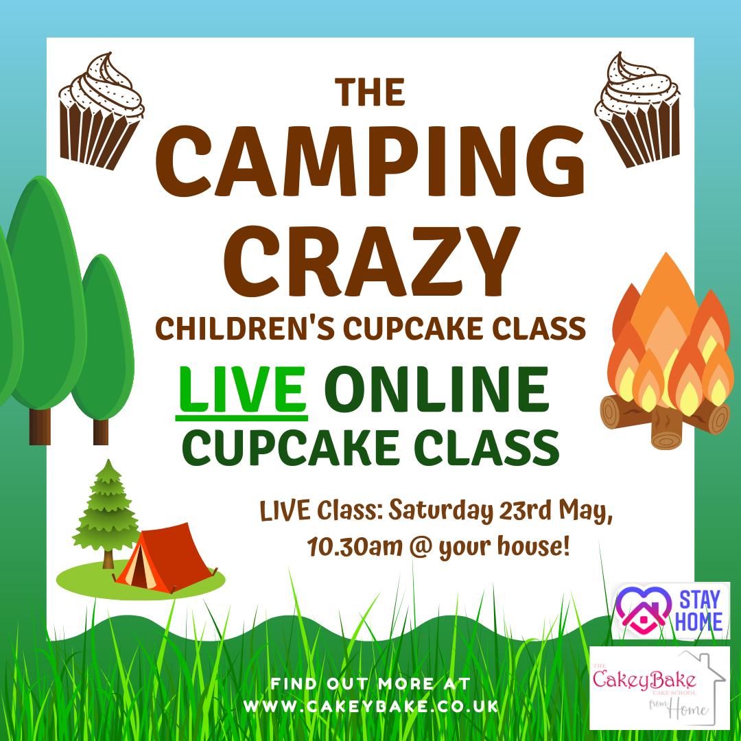 Camping Cupcake Class