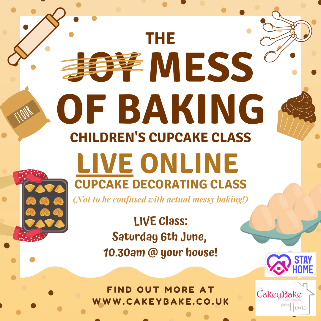 Mess of Baking Cupcake Class